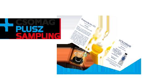 CSOMAG PLUSZ SAMPLING