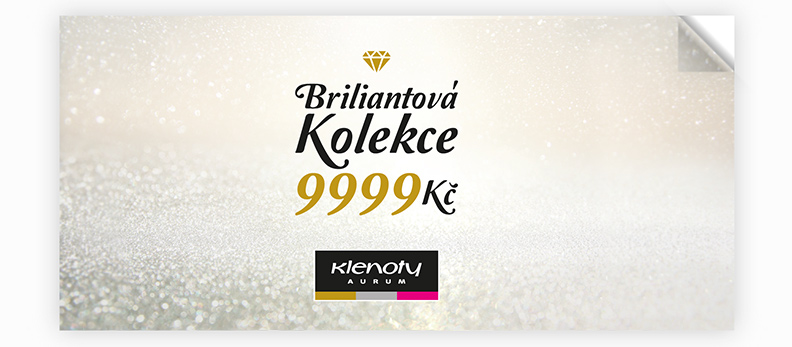 Klenoty Aurum CZ - catalog Brilliant Collection 9999 Kč