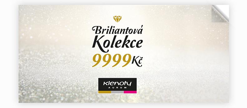 Klenoty Aurum CZ | Catalog Brilliant Collection 9999 Kč