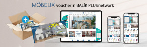 Möbelix voucher in CSOMAGPLUS network
