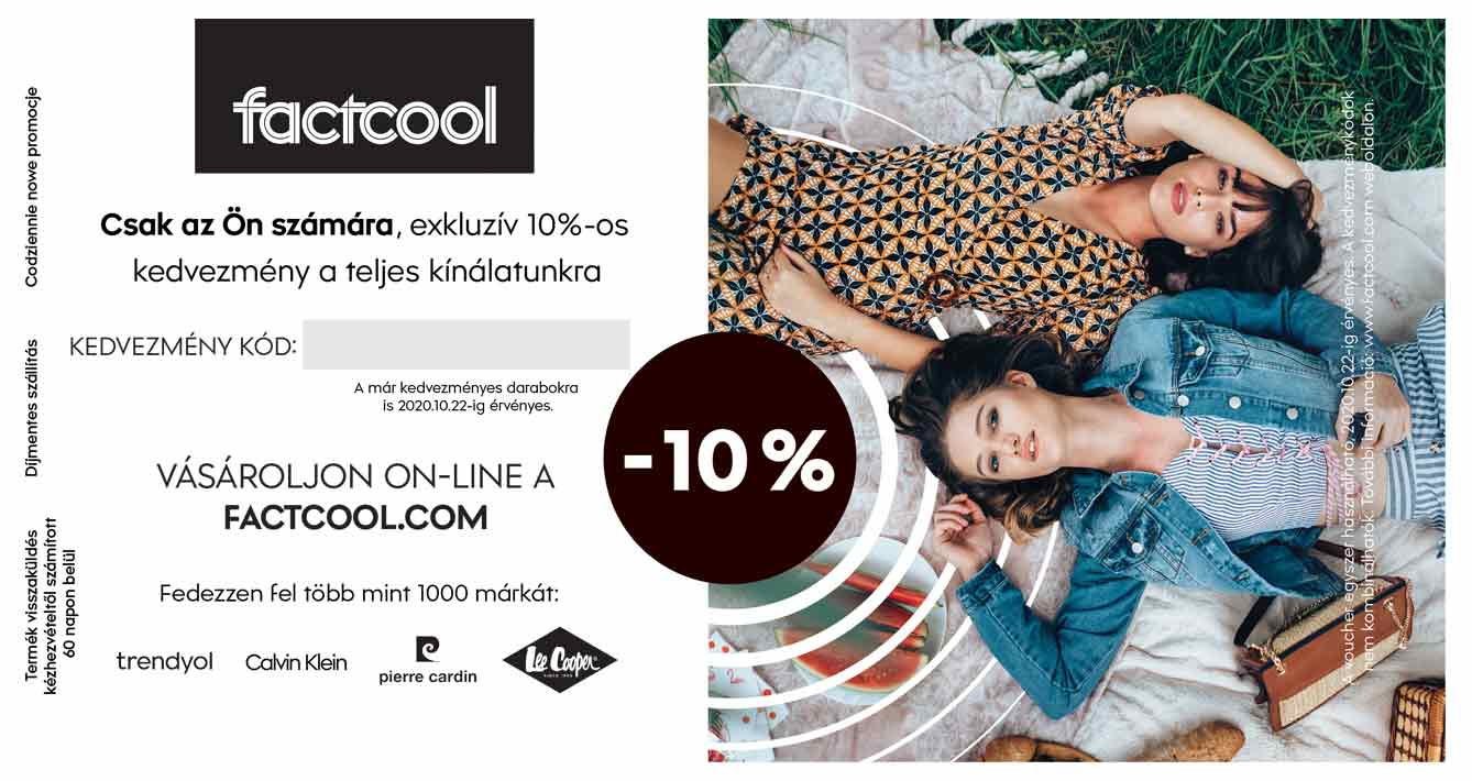 Voucher factcool.com